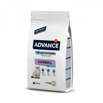 Advance Cat Adult Hairball Sterilized 10kg