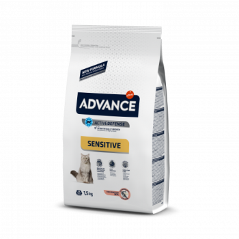 Advance Cat Sensitive Salmão 10kg