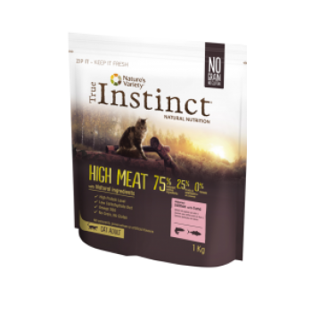 Instinct High Meat Cat Adult 1Kg  Salmão e Atum