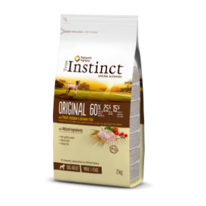 Instinct Original Dog Mini Adult Frango 2Kg