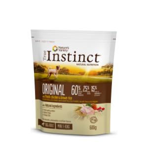 Instinct Original Dog Mini Adult Frango 600gr