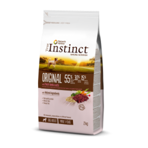 Instinct Original Dog Mini Adult Cordeiro 2Kg