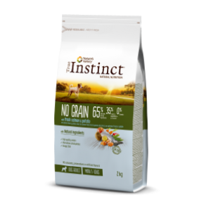 Instinct No Grain Dog Mini Adult Salmão 2kg