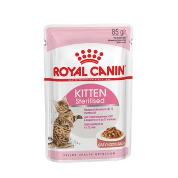 Royal Canin Kitten Sterilised Gravy 85gr