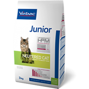 Virbac HPM junior neuthered cat 0.4kg