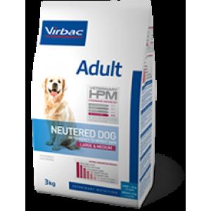 Virbac HPM adult neuthered dog large&medium 12kg