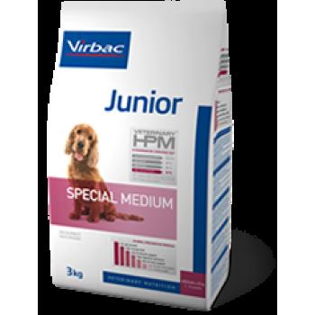 Virbac HPM junior dog special medium 3kg