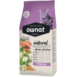 Ownat Classic Cat Sterilized 15Kg